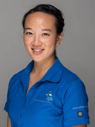 Physiotherapist Andrea Chen