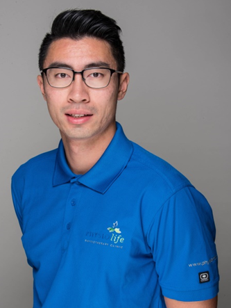 Physiotherapist Ken Lo