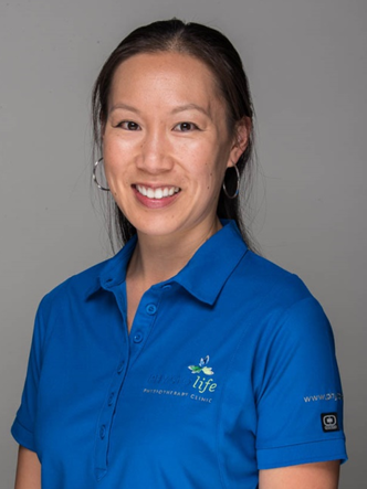 Physiotherapist Krystie Cheong