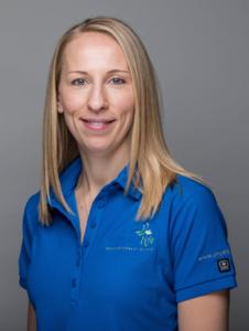 Physiotherapist Arissa Patterson